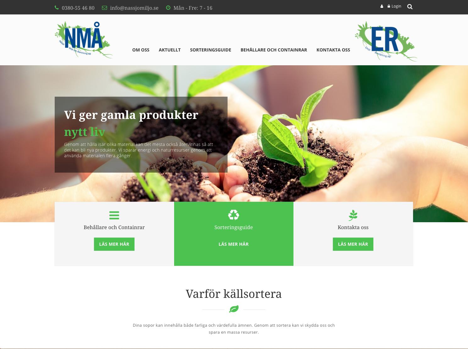 Nytt förtroende till Nässjö Miljö & Återvinning