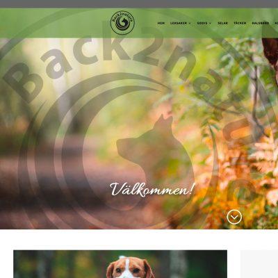 Ny webbutik till Back2nature