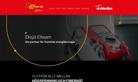 Eksjö Elteam har ny hemsida