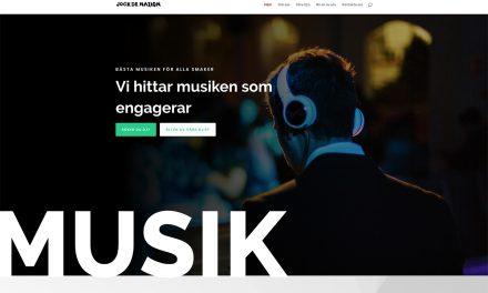 Ny hemsida till Jock De Nation