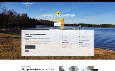 Nytt bokningssystem och hemsida till Movänta Camping