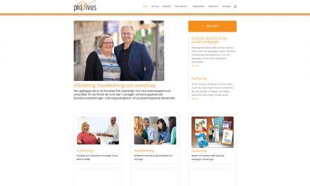 Ny hemsida Provivus