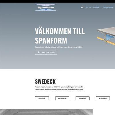 Publicering av spanform.se