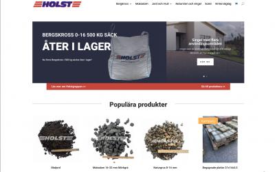Nu har vi publicerat holstgrus.com